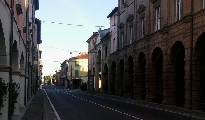 Giovedì 23 gennaio chiusa la via Emilia Interna per rifacimento della segnaletica orizontale