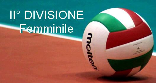 Pallavolo 2° divisione femminile, 5 giornata 10-13 gennaio 2020